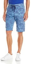 ProjekRaw Projek Raw Men's Flat Front Printed Short