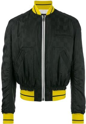 Haider Ackermann zipped bomber jacket