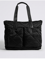M&S Collection Quilted Shopper Bag with StormwearTM