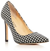 Ivanka Trump Carra Houndstooth Pointed Toe Pumps