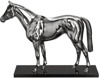 Christofle Sterling Silver Thoroughbred Figurine
