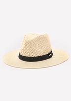 Bebe Basket Weave Panama Hat