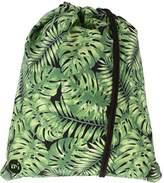Mi-Pac Tropical Leaf Kit Bag Drawstring Bag, 47 cm, 20 L - Green