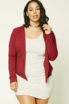 Forever 21 FOREVER 21+ Plus Size High-Low Blazer