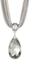 Natasha Accessories Large Pendant Necklace