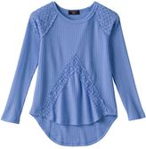 It's Our Time Girls 7-16 Lace Thermal Top