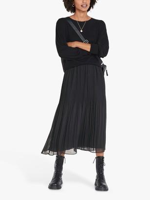 Hush Mavis Midi Skirt, Graphite