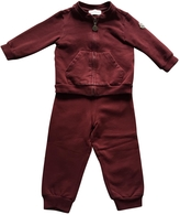 Moncler Burgundy Cotton Outfits