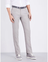 Armani Collezioni Slim-fit Straight Woven Trousers