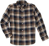 E-Land Kids Boys' Plaid Woven Shirt