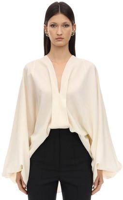 Lanvin Wool Shirt W/ Balloon Sleeves