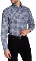 Tailorbyrd Long Sleeve Geo Print Woven Shirt