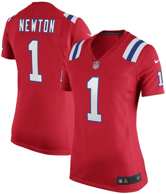 Nike Women's Cam Newton Red New England Patriots Alternate Game Jersey