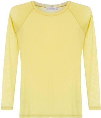 M·A·C Mara Mac sheer blouse