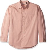 Van Heusen Men's Long Sleeve Traveler Stretch Non Iron Shirt
