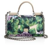 Dolce & Gabbana Botanical Extra Small Leather Phone Bag