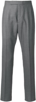 Thom Browne backstrap cropped tailored trousers