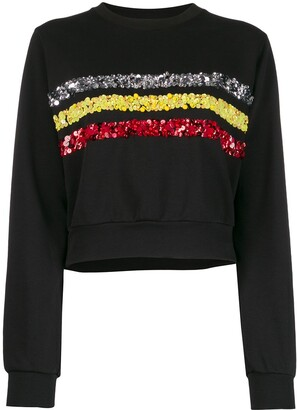 NO KA 'OI Rush Sweater With Embroidery