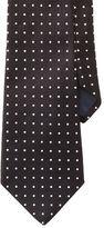 Ralph Lauren Polka-Dot Silk Repp Tie