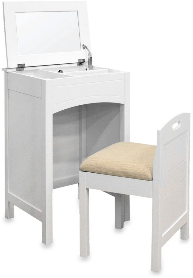 Bed Bath & Beyond Cheswick Vanity Set in White