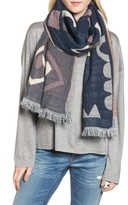 Madewell Women's Abstract Pattern Scarf