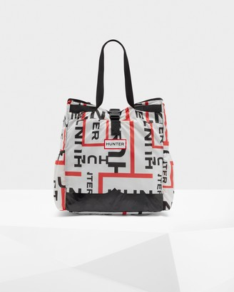 Hunter Original Exploded Logo Ripstop Packable Tote Bag