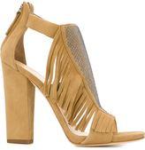 Giuseppe Zanotti Design 'Alabama' fringed sandals - women - Leather/Suede/metal - 36