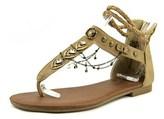 Jellypop Cava Women Open Toe Synthetic Tan Gladiator Sandal.