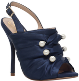 KG by Kurt Geiger Jem Pearl Stiletto Sandals, Navy