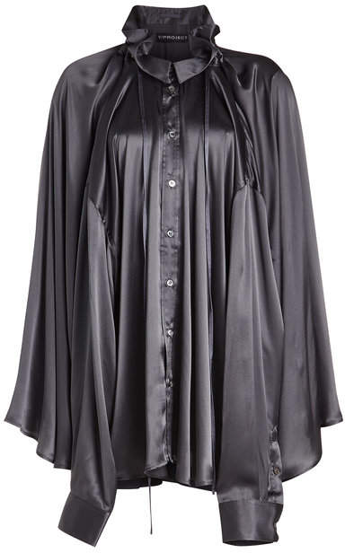 Y/Project Double Layered Silk Blouse