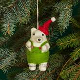 Bloomingdale's Felt Bear Ornament - 100% Exclusive