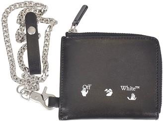 Off-White Ow Logo Chain Wallet