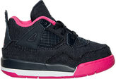 Nike Girls' Toddler Jordan Retro 4 Basketball Shoes