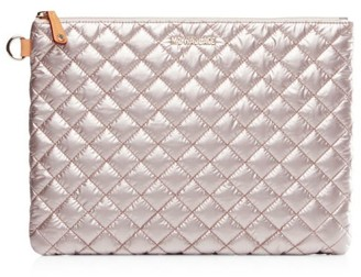 MZ Wallace Metro Quilted Nylon Pouch