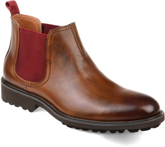 Thomas Laboratories & Vine Maddox Lugged Chelsea Boot