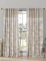 Kensie Clara Linen Shower Curtain