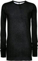 Rick Owens long length T-shirt - men - Cotton - XS
