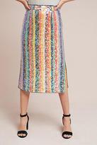 Maeve Sequined Palette Midi Skirt