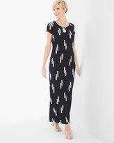 Chico's Vertical Geo Printed Dress
