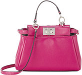 Fendi Women's Peekaboo Micro Satchel-RED
