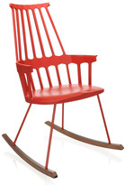 Kartell Comback Rocking Chair - Orangy Red