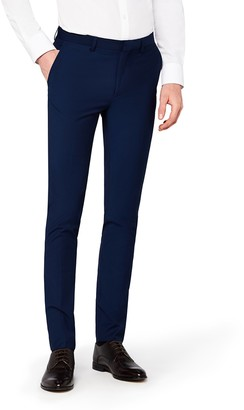 Find. Amazon Brand Men's Skinny Fit Tonic Formal Trousers