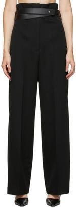 Jil Sander Black Wool Noriyuki Trousers