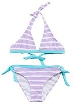 Snapper Rock Purple Stripe UPF 50+ Bikini