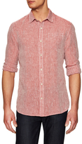 Jachs Linen One Pocket Chambray Woven Sportshirt