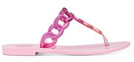 Melissa Women's Big Chain T-Strap Sandals
