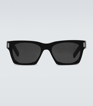 Saint Laurent Acetate frame sunglasses