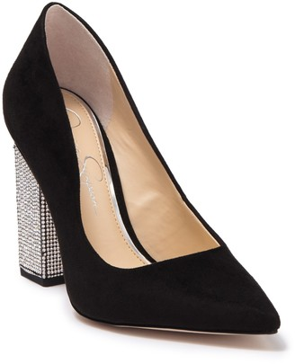Jessica Simpson Welles Embellished High Heel