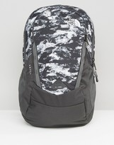 The North Face Vault Backpack In Black Camo