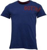 Gotcha Mens Printed Fashion T-Shirt Indigo